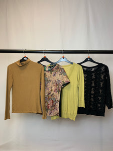 Women's Clothes Bundle 4 Assorted Tops inc. Topshop and Oasis Size 10