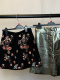 Women's Clothes Bundle 2 Miss Selfridge and Leather Zara Skirts Size Small
