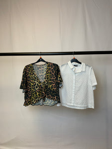 Women's Clothes Bundle 2 Topshop and Asos Tops Size 10