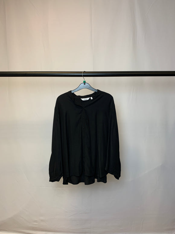 Women's & Other Stories Black Batwing Blouse Size 12