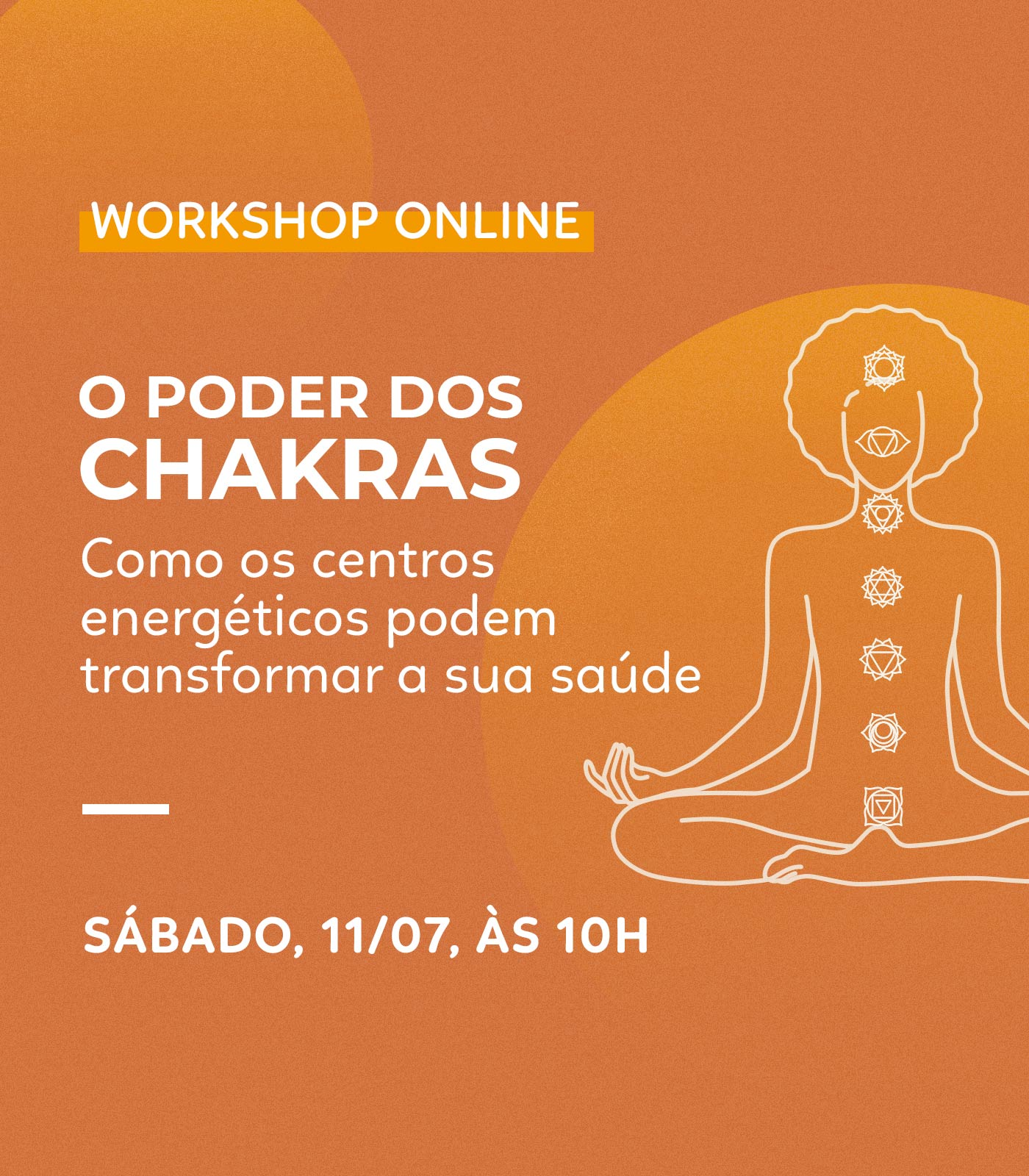 WORKSHOP: O poder dos chakras