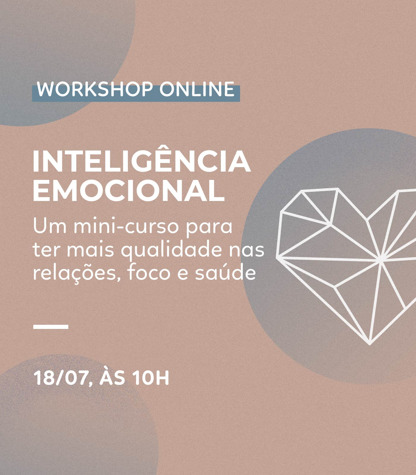 WORKSHOP: Inteligência emocional