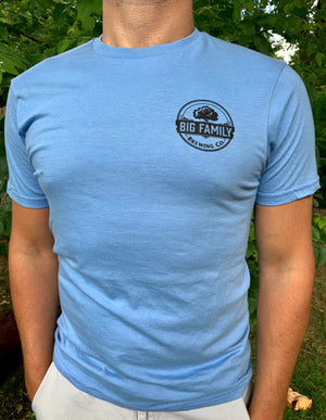 Big Family Brewing Co. Corner Logo T-Shirt