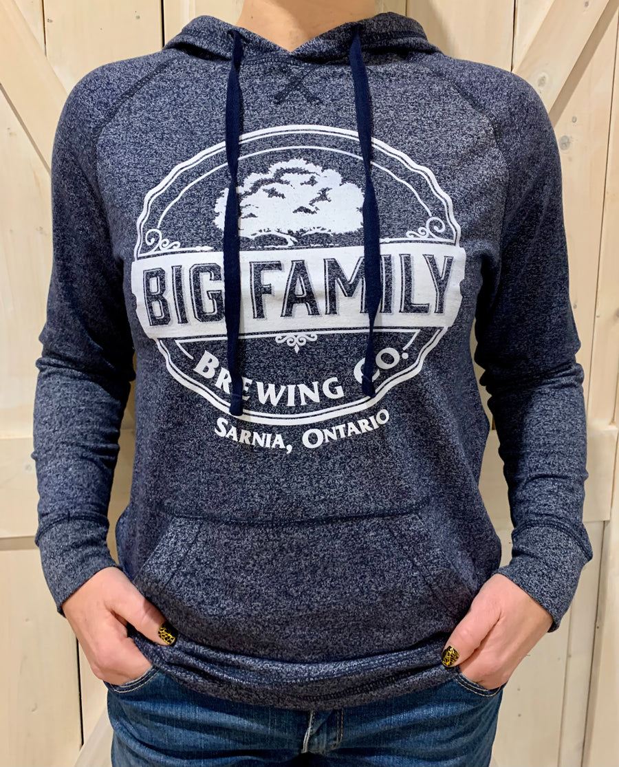 Big Family Brewing Co. Lightweight Large Logo Hoodie