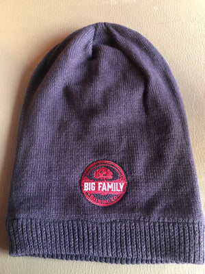 Knitted Logo Slouch Hat