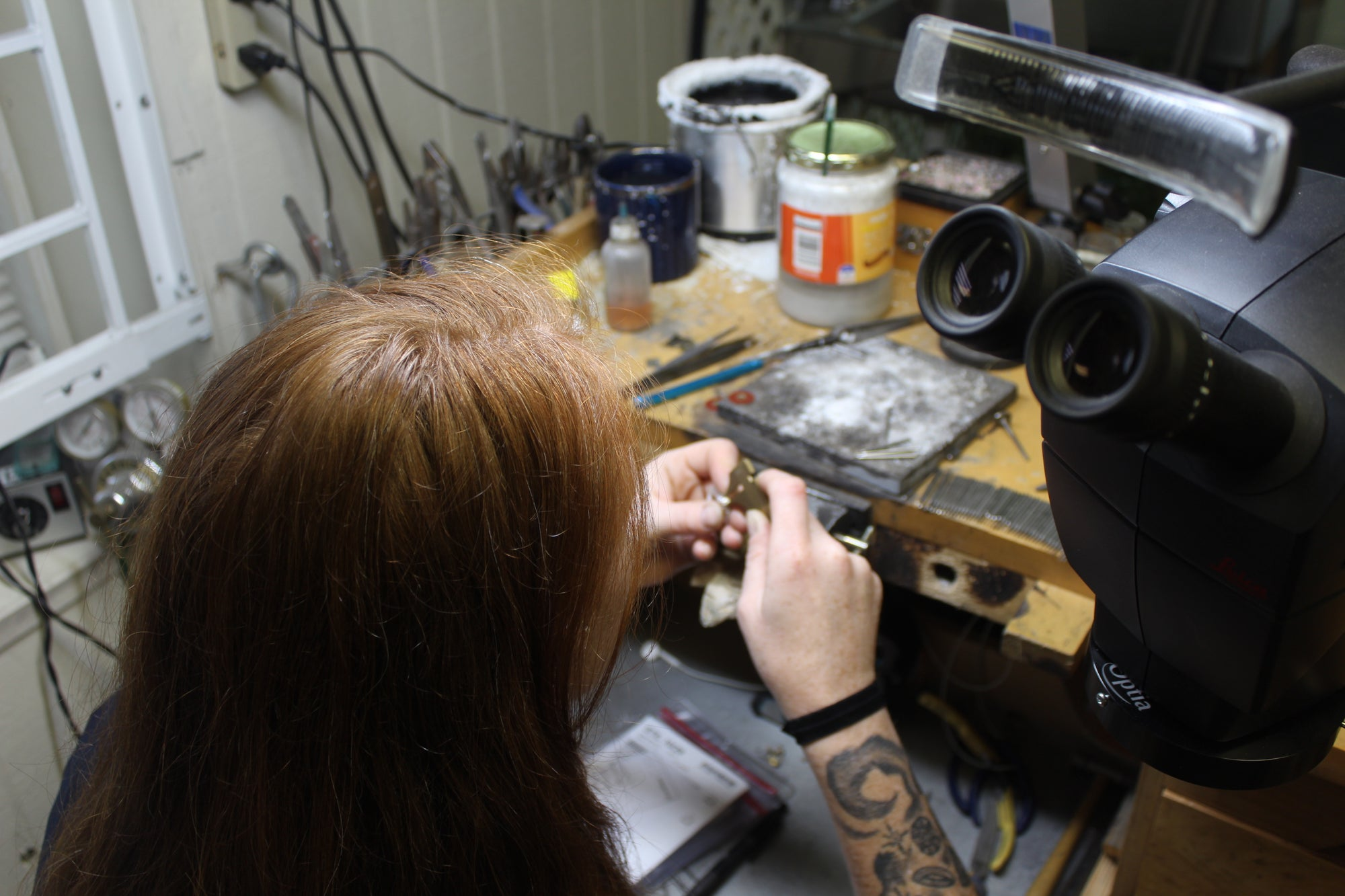 A Day in the Life of a Bench Jeweler