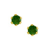 Nickel & Allergy Free Genuine Emerald Earrings