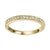 10K Yellow Gold Stackable Ring