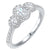 14K Diamond Ring 3/4 ctw