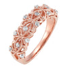 Rose Gold Diamond Band 1/4 CTW