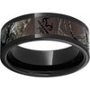 Black Diamond Ceramic™ Pipe Cut Band with Realtree® Xtra Inlay