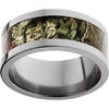 Titanium Flat Band with Mossy Oak® Break-up Infinity Inlay