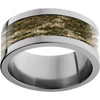 Titanium Flat Band with Mossy Oak® Bottomland Inlay