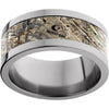 Titanium Flat Band with Mossy Oak® Duck Blind Inlay