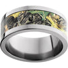 Titanium Flat Band with Mossy Oak® New Break-Up Inlay