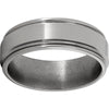 Titanium Rounded Edge Band with Polish Finish