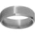 Titanium Beveled Edge Band with Satin Finish