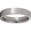 Titanium Flat Band with Satin Finish