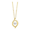 Gold Diamond ROL Pendant