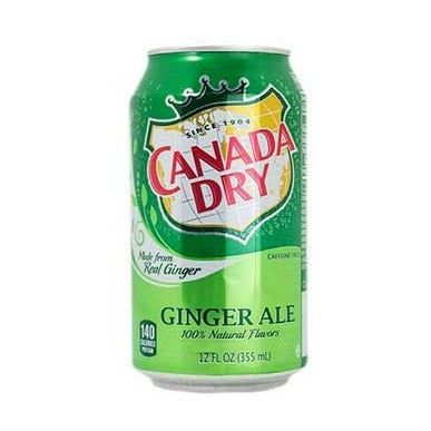 Canada Dry Ginger Ale Lata 355ml