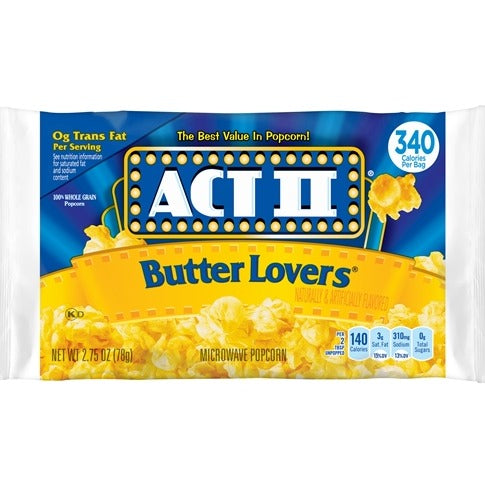 ACT II Butter Lovers 85g
