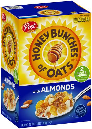 Honey Bunches of Oat Cereal con Almendras 1.36kg