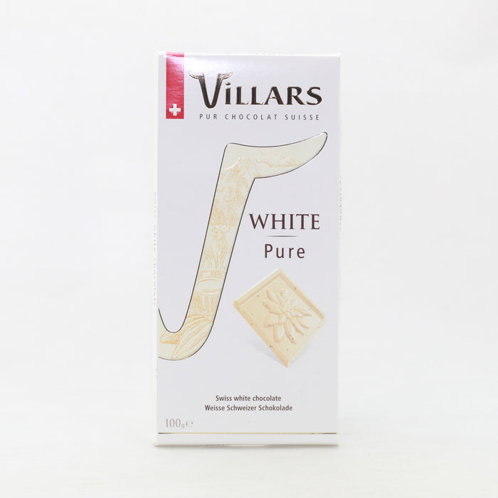 Villars Chocolate Blanco Pure 100Gr.