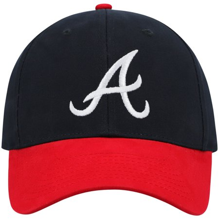 Gorra ajustable de Atlanta Braves Two-Tone Basic.