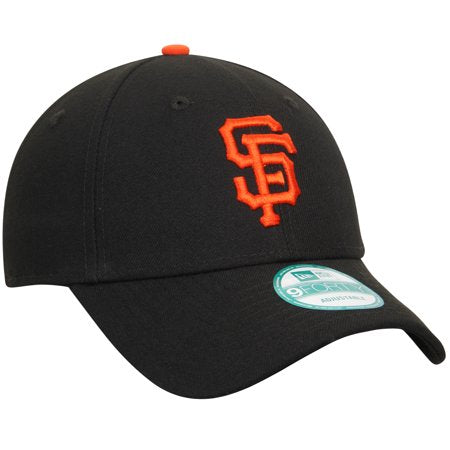Gorra de San Francisco Giants New Era 9Forty Ajustable- Negra