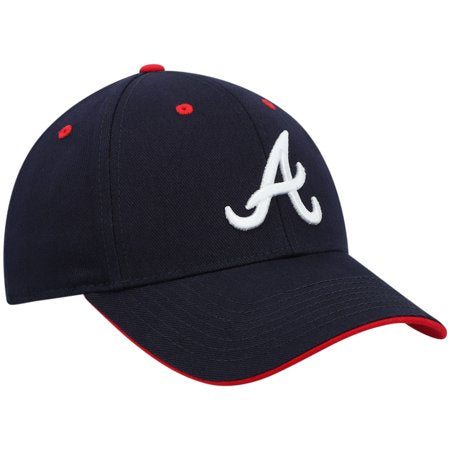 Gorra ajustable de Youth Navy Atlanta Braves Money Maker