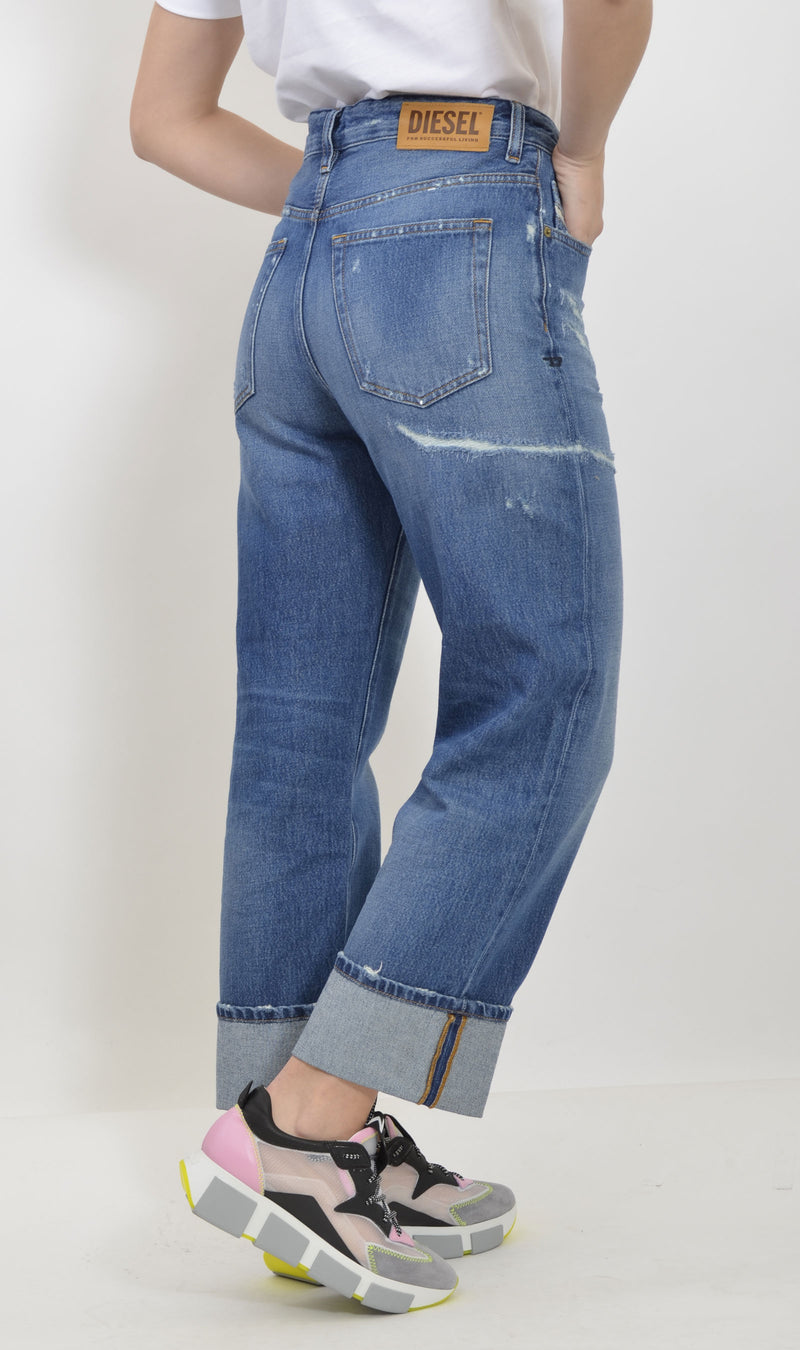 00S6G0 0097B D-REGGY-01 DENIM MEDIO
