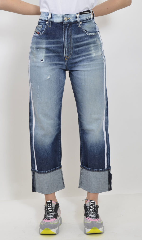 00S6G0 0096S D-REGGY-01 DENIM MEDIO