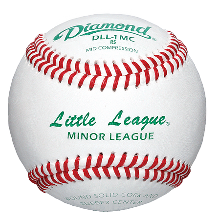 DLL-1 MC Little League Minor League Leather Baseball - GAME DAY TEAMS