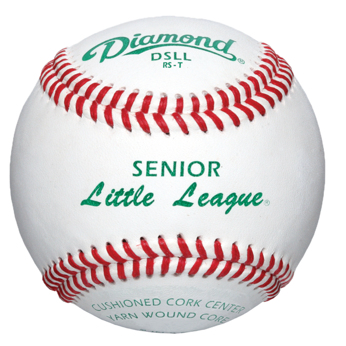 DSLL Senior Little League Tournament Grade Leather Baseball - GAME DAY TEAMS