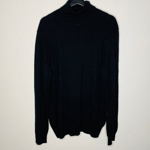 Black Turtle Neck Sweater (L)
