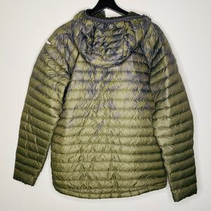 Green Camouflage Puffy Jacket (M)