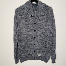 Load image into Gallery viewer, Gray Heathered Cardigan Hoodie (M)