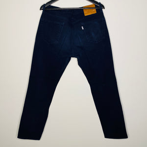 Dark Navy Five Pocket Twill Pant (L)