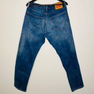Acid Washed Light Denim Pants (L)