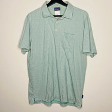 Load image into Gallery viewer, Mint Green Striped Polo (L)