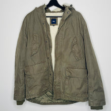 Load image into Gallery viewer, Sherling Olive Green Winter Jacket (M)