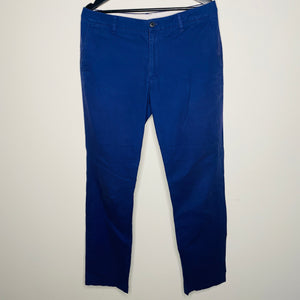 Navy Blue Chino Pants (M)