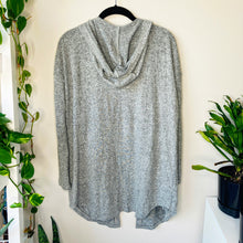 Load image into Gallery viewer, Softest Gray Open Front Hoodie