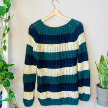 Load image into Gallery viewer, Striped Knit Sweater (S)