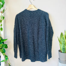 Load image into Gallery viewer, Heather Black Crewneck Sweater (XS)