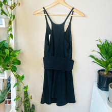Load image into Gallery viewer, Black Racerback Dress with Belt (S)