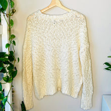 Load image into Gallery viewer, Off White Knit Sweater (S)