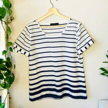Load image into Gallery viewer, Striped Blouse (L)