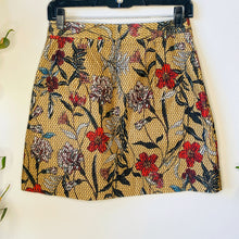 Load image into Gallery viewer, Floral Velvet Skirt (S)