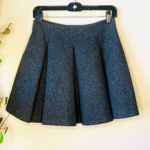 Pleated Gray Skirt (S)